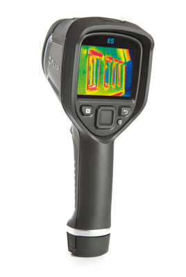 flir e5 infrared thermal camera & reporting software | red