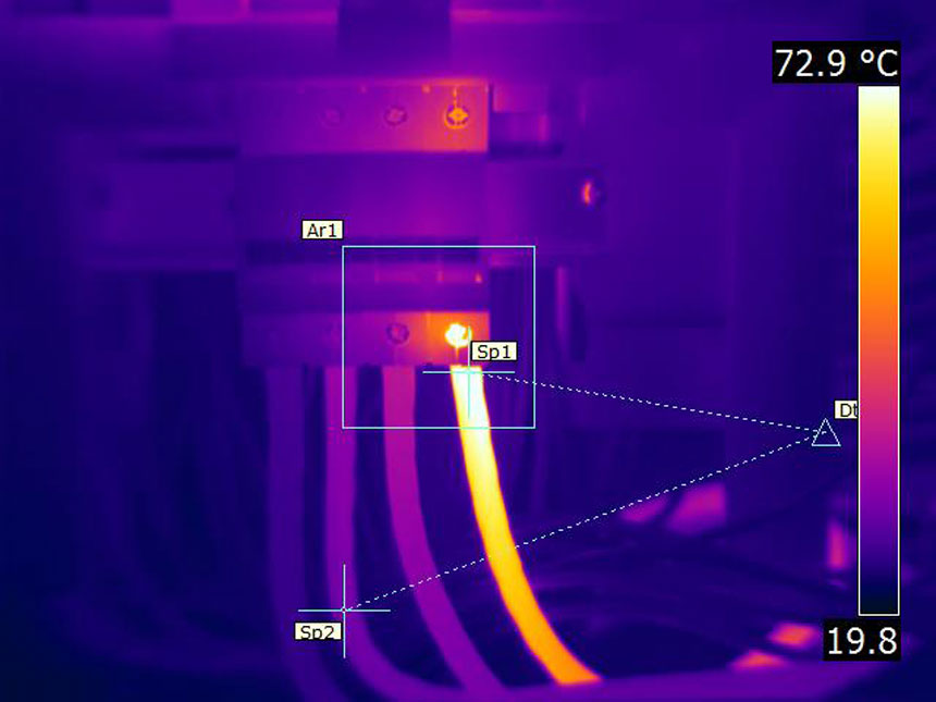 thermal imaging of distribution boards