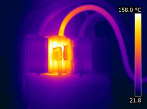 thermal image of fuse carrier