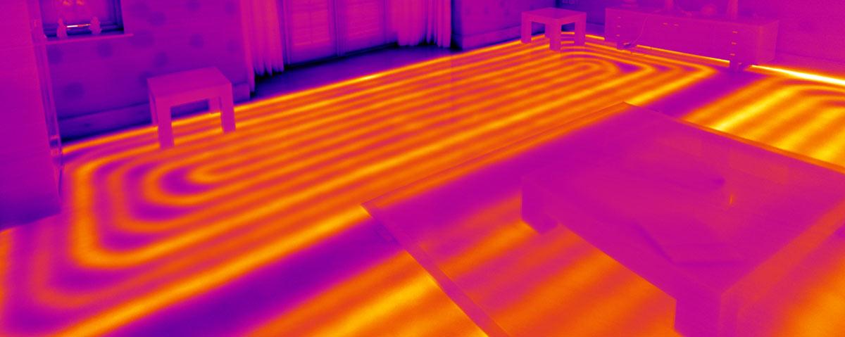 Thermal Imaging For Underfloor Heating