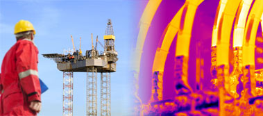 Offshore thermography surveys