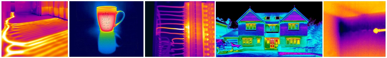 thermal images hire cameras